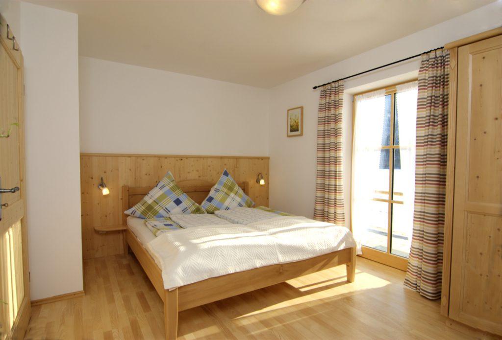 Ferienwohnung Erbhof Wohnung Wiesenblume Schlafzimmer